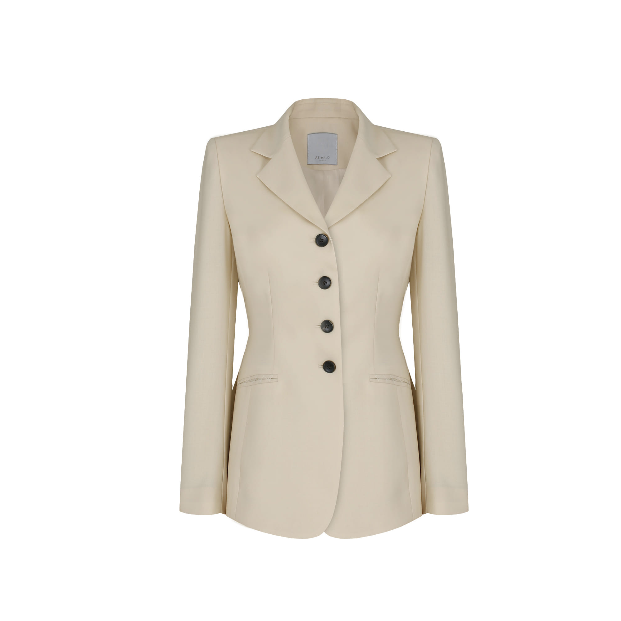 4-button Jacket       (vanilla Beige)